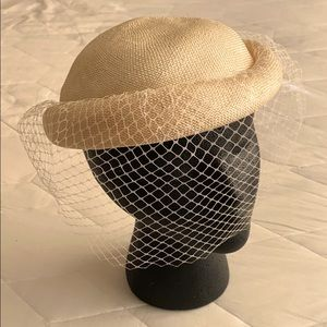 Vintage Veiled Hat